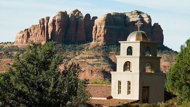 ST LUKE'S CHURCH,  SEDONA AZ